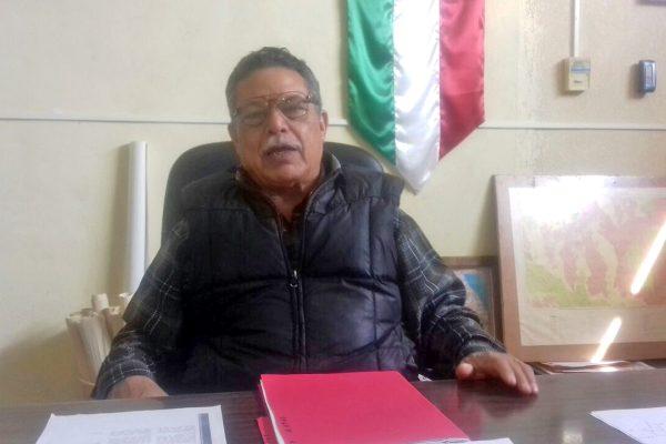 Luis Ugarte, coordinador de Desarrollo Rural del Estado en el Semidesierto.