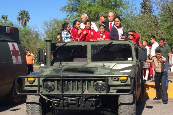 Promueve Ejército mexicano acercamiento con la comunidad