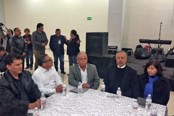 El alcalde de Frontera y el subsecretario de Gobierno de Asuntos Políticos y Religiosos los acompañaron.
