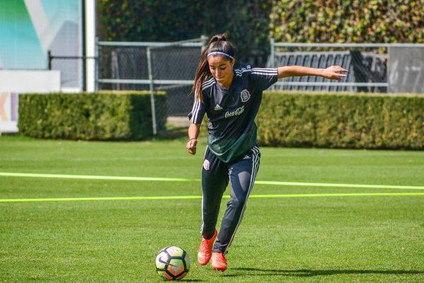 Jugadora de Santos Femenil se concentró con la Selección Sub-17