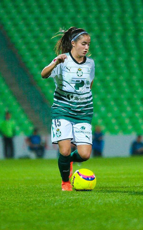 La jugadora de Santos Femenil llegó como refuerzo para el Clausura 2018.