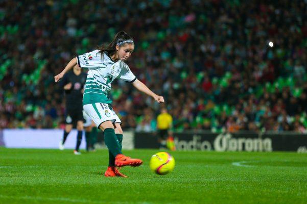 Delgado Félix acumula 262 minutos y un gol en la Liga MX Femenil.