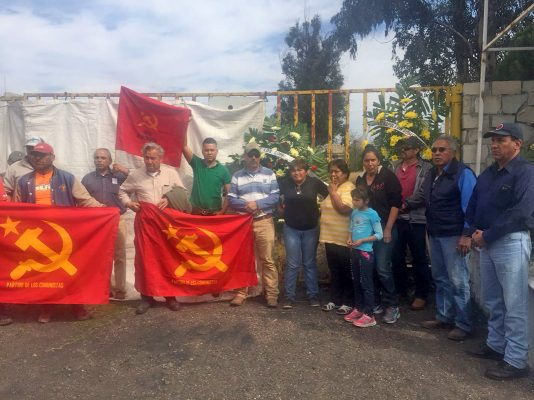 Viudas y activistas que apoyan esta lucha presentes en el12 aniversario de la tragedia minera de Pasta de Conchos.