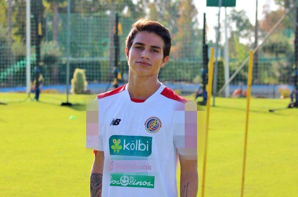 El joven costarricense participó en la última edición del Mundial Sub-17.