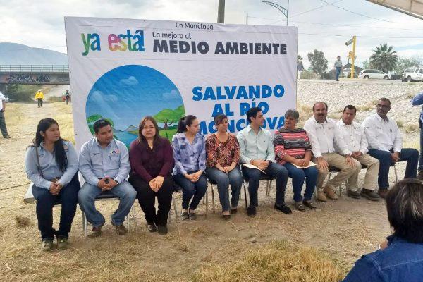 """Arrancan programa """"Salvemos el río Monclova"""""""
