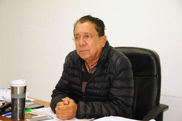 Jesús Mario Castrillón Jiménez, titular de la Dirección de Servicios Públicos Municipales.