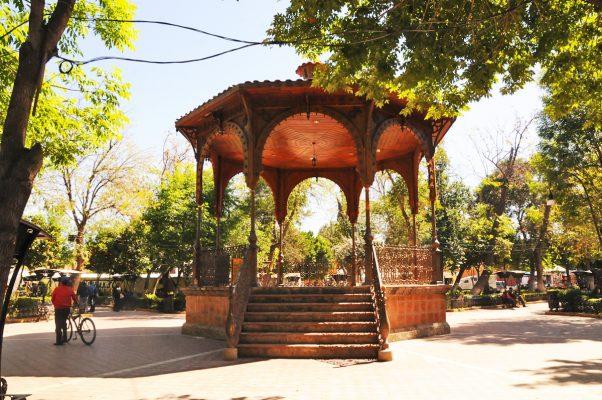 Kiosco de la Plaza de Armas, patrimonio histórico de Lerdo