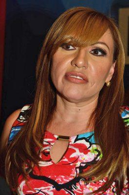 Verónica Terrones aparece en el preregistro del Distrito VIII.