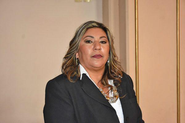 Ante el Cabildo en pleno, Andrea Lozano Rodríguez rindió protesta como sétima regidora.