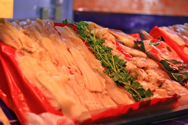 El pescado aumentó en $5.00 con relación al año anterior.