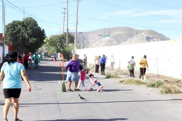 """""""Torreón está muy sucia"""", Alicia González, ciudadana."""