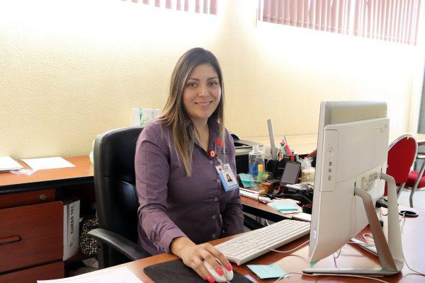 Artemisa Rodríguez, encargada de la Difusión e Imagen.