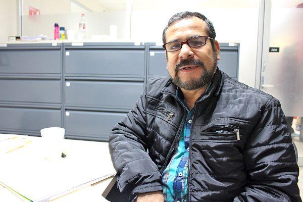Cristóbal Cruz Vera, jefe del Departamento de Garantías y Parquímetros.