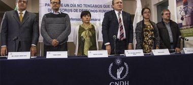 CNDH condena asesinato de ombudsman de BCS