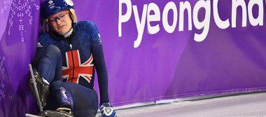Prensa británica lapida a patinadora por su 'mala suerte' en Pyeongchang