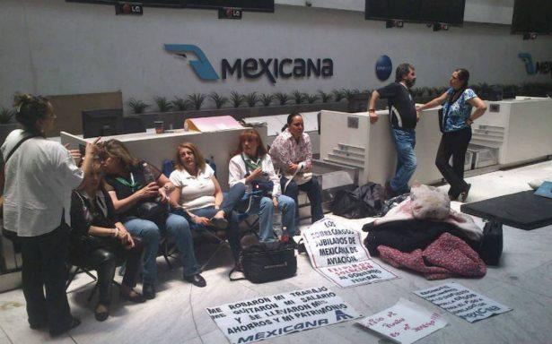 Recibirán liquidación siete mil empleados de Mexicana de Aviación