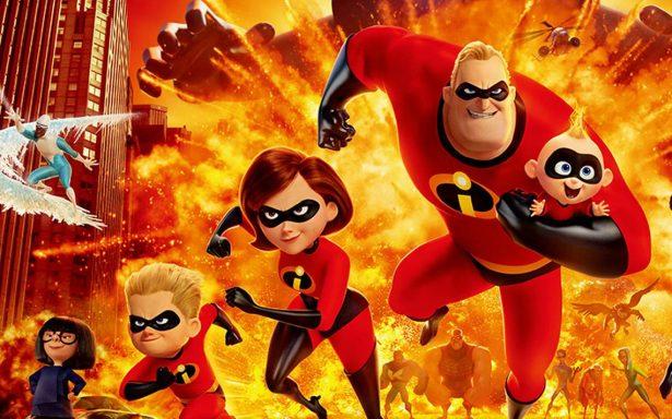 Los Increíbles 2 se estrena el próximo viernes en todo el país