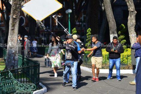 Graban en Puebla próxima serie de Paquita la del Barrio