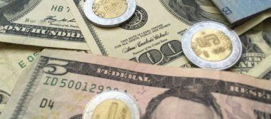 Peso recupera terreno, dólar sigue por debajo de los 19 pesos a la venta