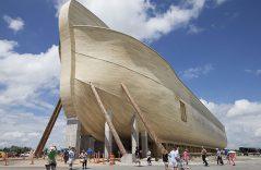 Desembarca en Kentucky la famosa Arca de Noé