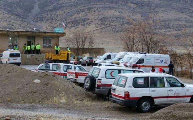 Se estrella en Irán avión privado turco con 11 personas a bordo