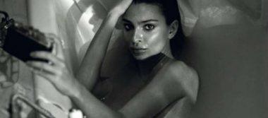 Emily Ratajkowski protagoniza candente y sensual sesión fotográfica