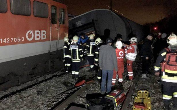 Doce heridos deja el choque de dos trenes cerca de Viena
