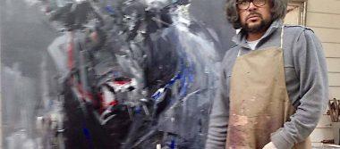 Diego Ramos uno de los mejores pintores taurinos visito México