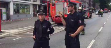 Reportan un muerto en un ataque con cuchillo en Hamburgo, Alemania