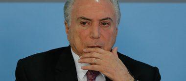 Índices de aprobación del presidente brasileño Michel Temer caen a 5%