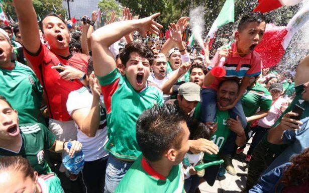 Reportan saldo blanco tras festejos por triunfo de México en Rusia 2018