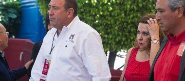 Rubén Moreira renuncia como secretario general del PRI