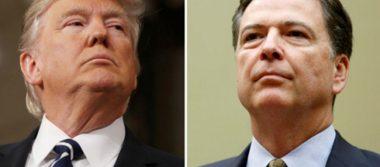 Departamento de Justicia de EU entrega memos de conversaciones Trump-Comey