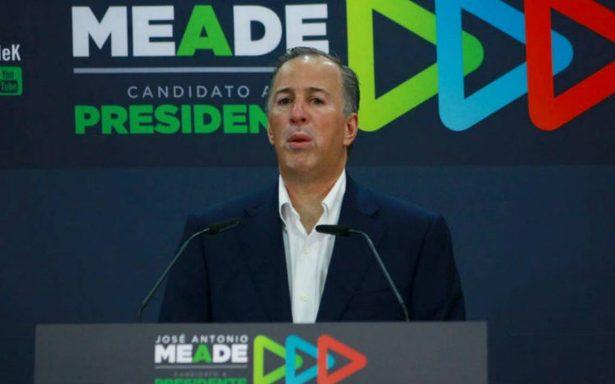 Meade invita a Ríos Piter sumarse a su campaña