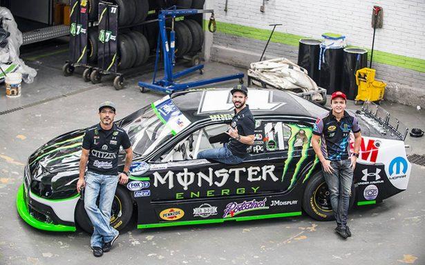 La clave es poder y velocidad en la NASCAR México