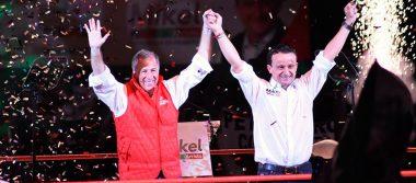 Mikel Arriola pide voto útil para desterrar a Morena y al PRD de la capital