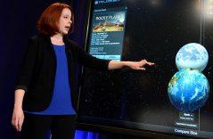 Descubren astrónomos, planetas parecidos a la Tierra