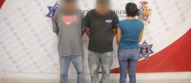 Arrestan a tres en deshuesadero clandestino, aseguran tres autos