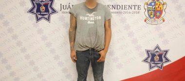 En Juárez, cae vendedor de pastillas en colonia Margaritas