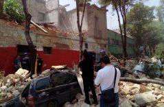 Galería: Sismo de 7.1 sacude la Ciudad de México, derrumba edificio y causa graves daños