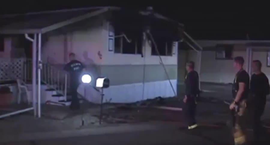 Hombre quiso matar araña y terminó por incendiar toda la casa