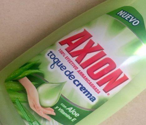 Hallan peligrosa bactería en jabón 'Axión'
