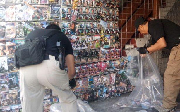 Va CES contra vendedores de discos piratas