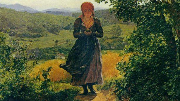 Encuentran un 'iPhone' en un cuadro del siglo XIX