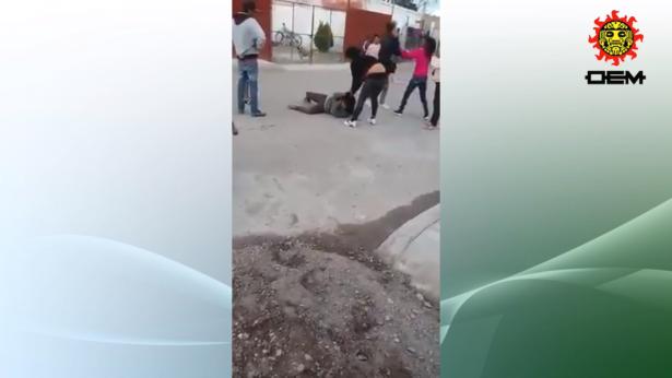 #EnVideo | Brutal pelea de mujeres se viraliza