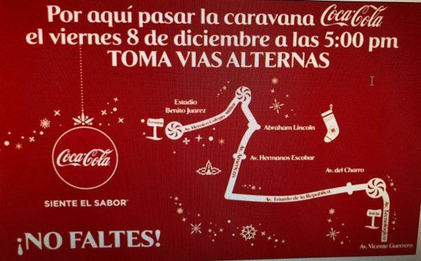 Caravana Coca Cola llenará de alegría la ciudad una vez más