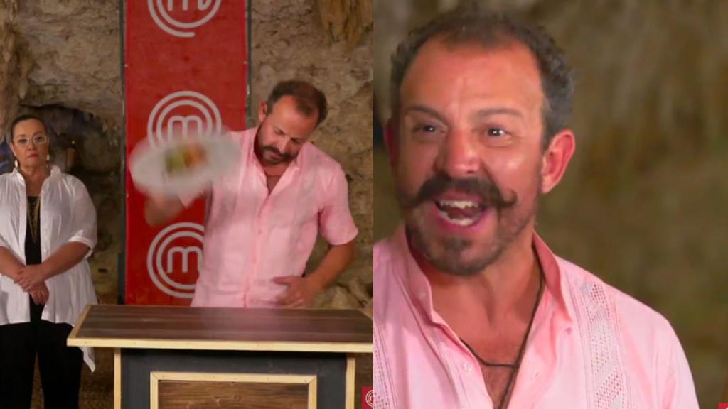#EnVideo | Chef Benito pierde el control en semifinal de MasterChef