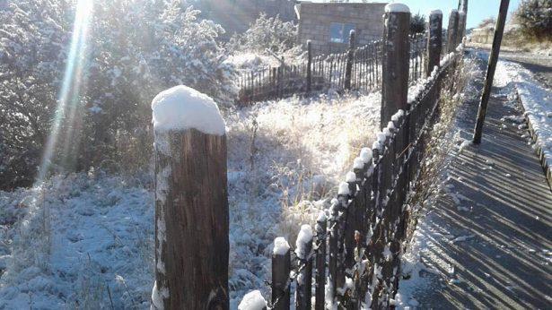 Advierten de nevadas en diversos puntos del estado