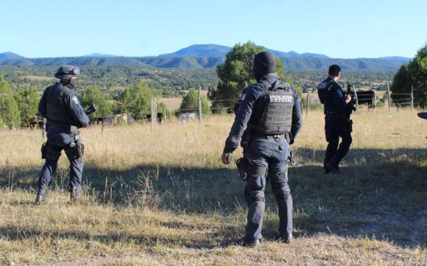Despliegan operativo en Bachíniva por enfrentamiento