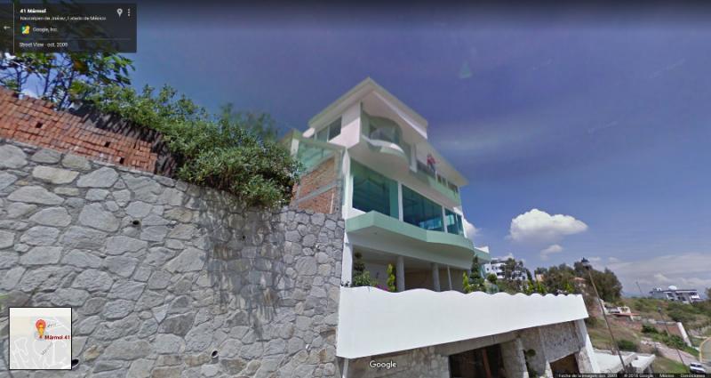 Google Maps capta algo impactante en una casa
